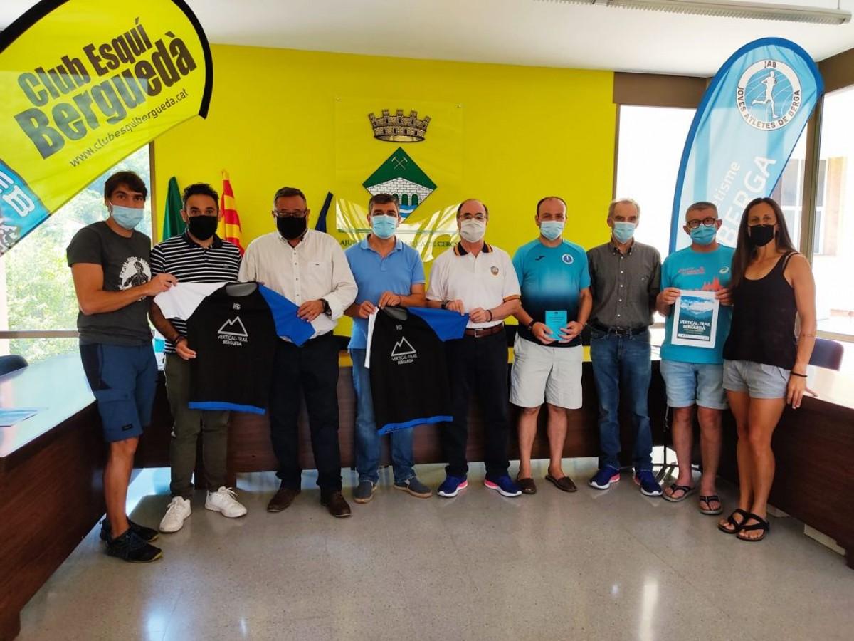 Presentació de la cursa Vertical-Trail-Berguedà a Cercs