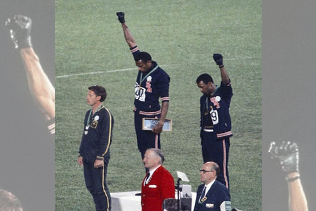 Peter Norman, Tommie Smith i John Carlos