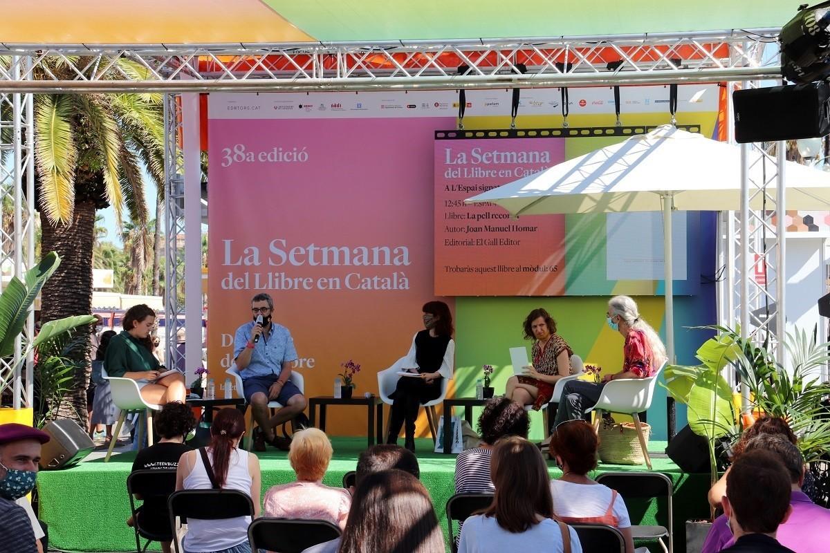 Presentació d'un llibre a la Setmana del llibre en català 2020