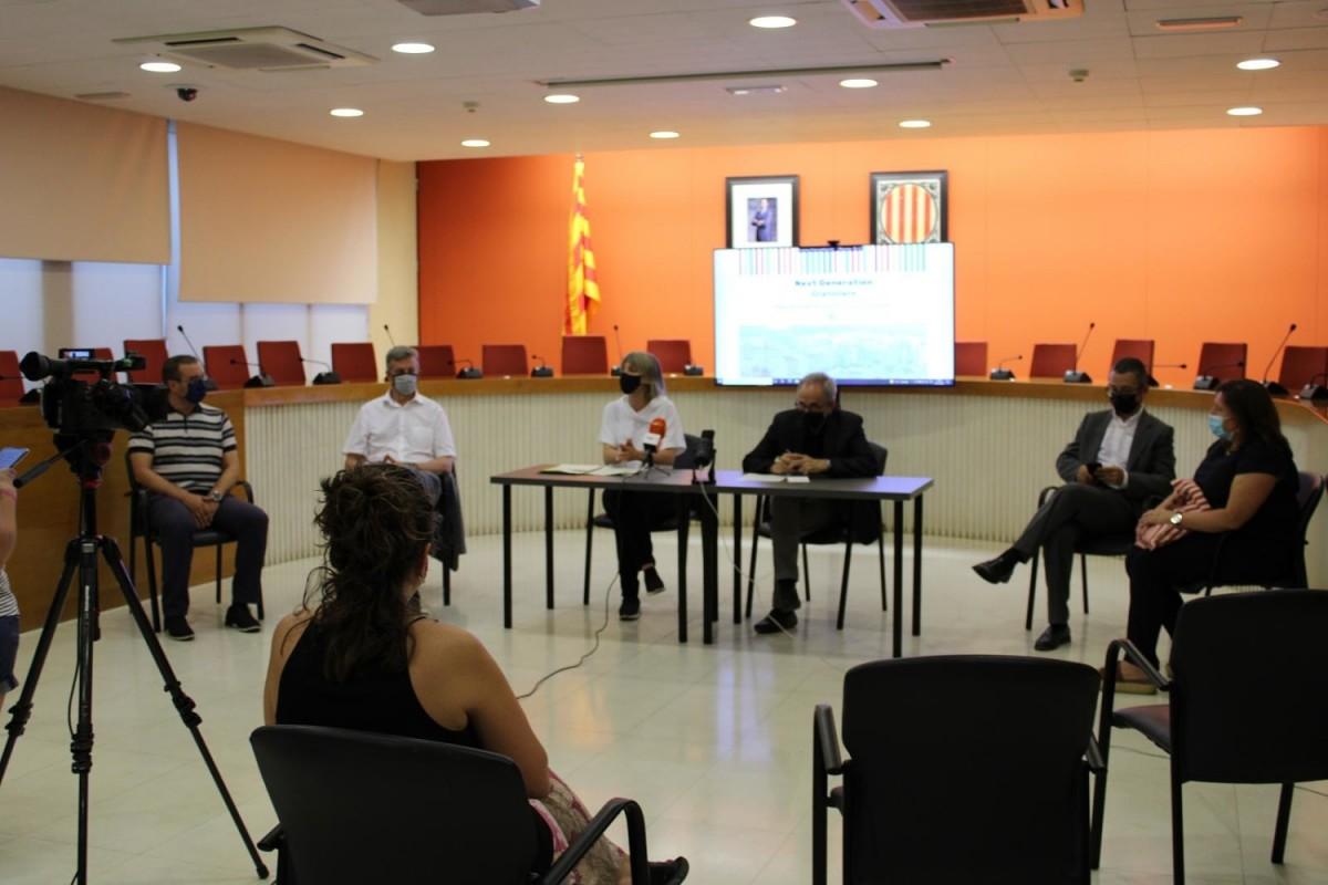 Presentació de l'estratègia a seguir amb els fons Next Generation a Granollers