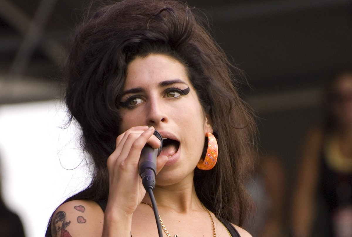 Amy Winehouse l'any 2007 al Virgin Festival (Baltimore, Maryland)