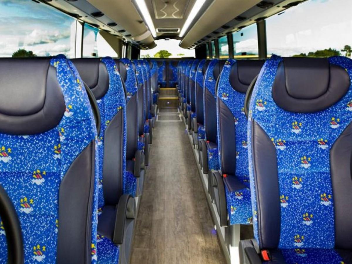 Imatge d'arxiu de l'interior d'un bus
