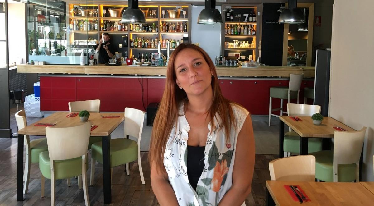 Laura Garcia, presidenta de l'Associació de Restauració i Oci Nocturn