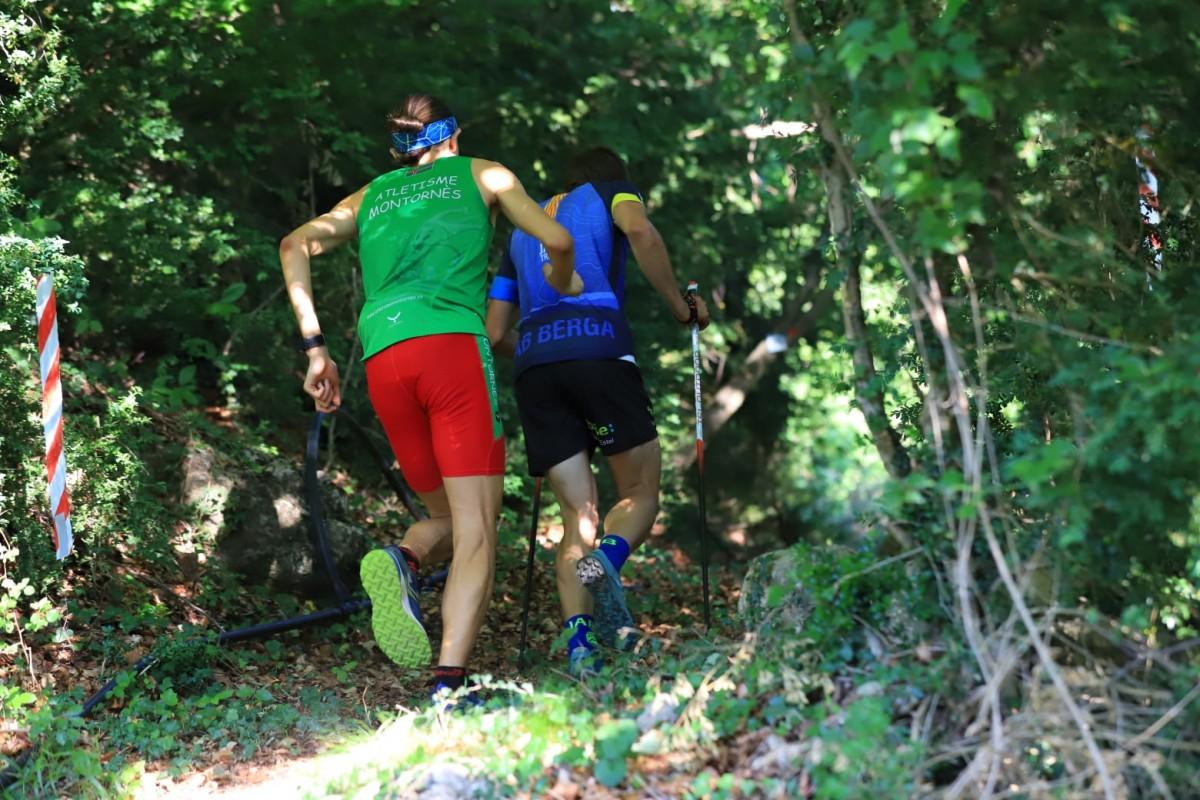 Miquel Corbera i Jordi Bolet durant la cursa