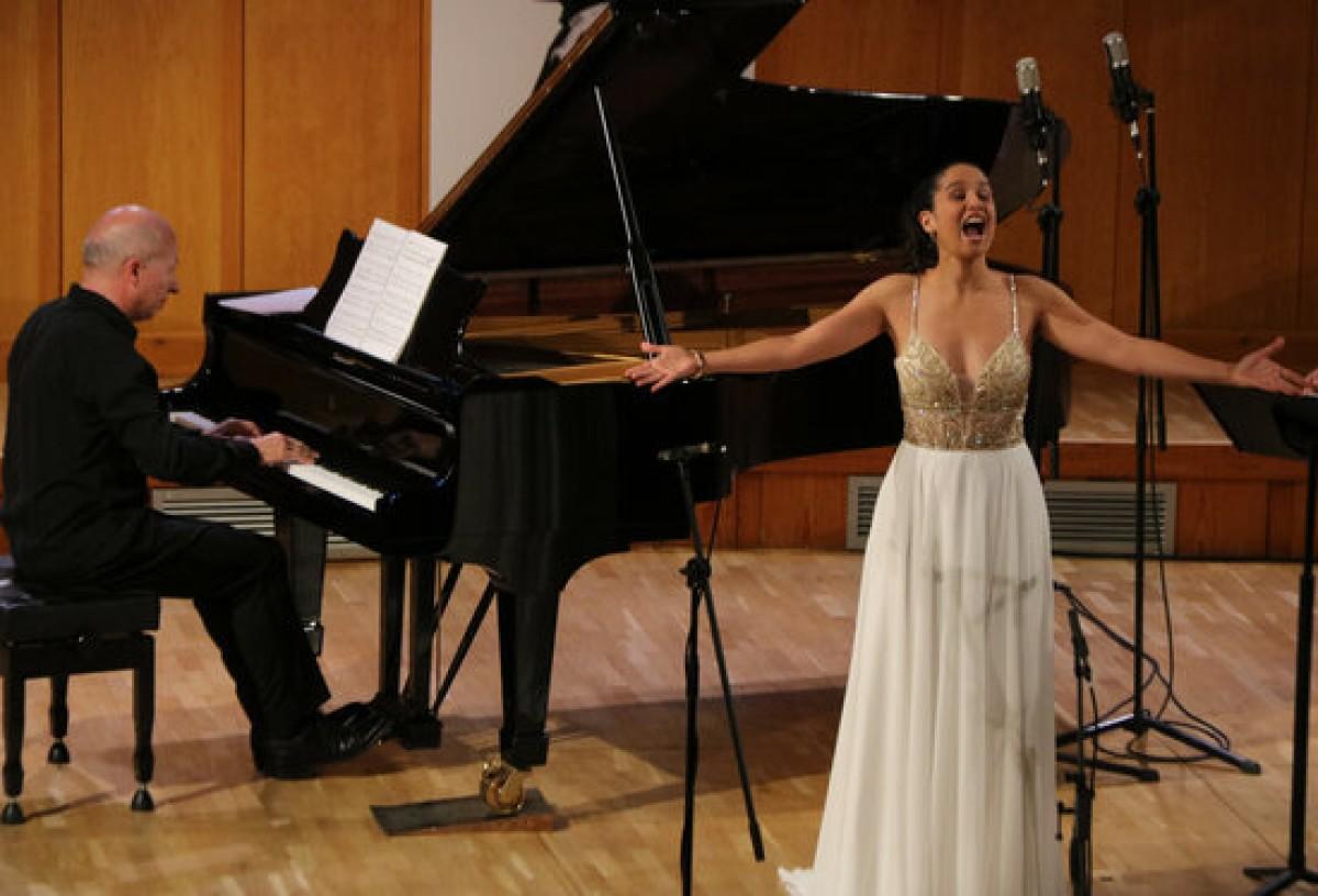 La soprano Sara Blanch