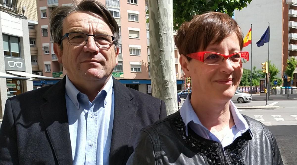 Córdoba i Ribes, fins ara regidors de Cs a Lleida