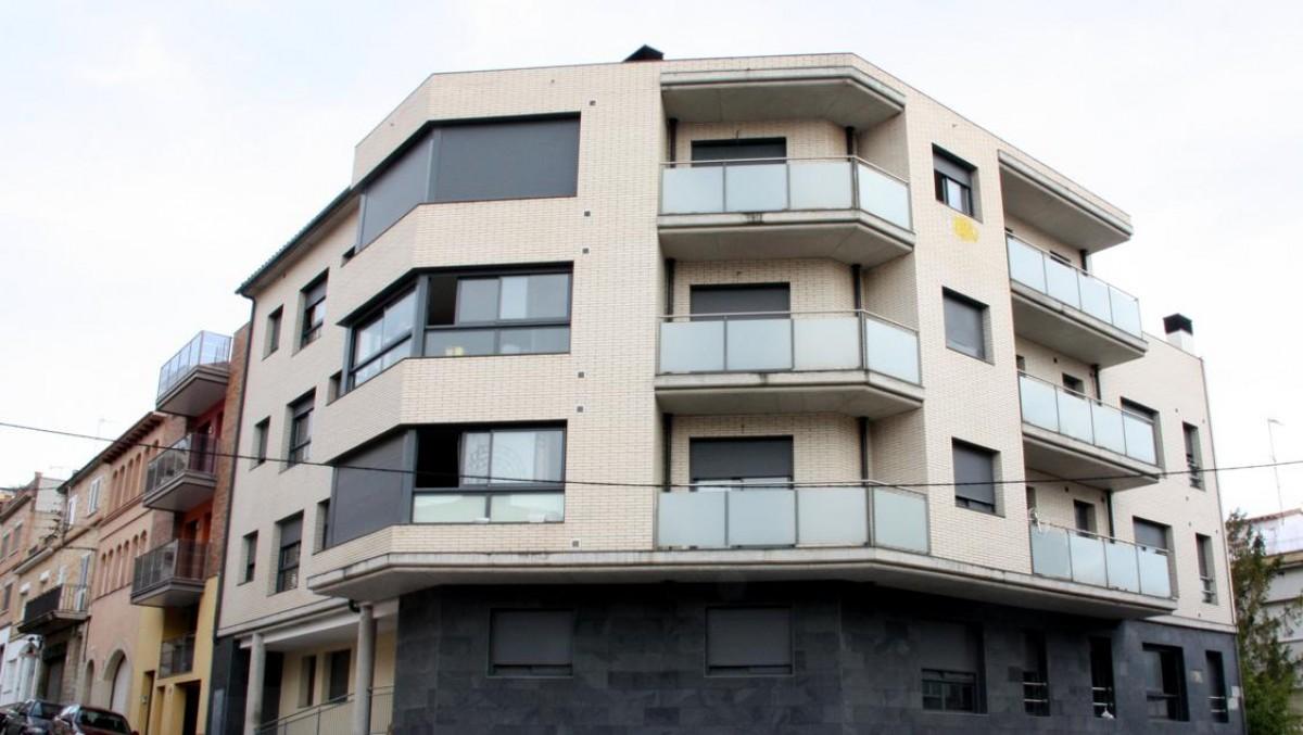 Imatge d'arxiu d'un bloc de pisos
