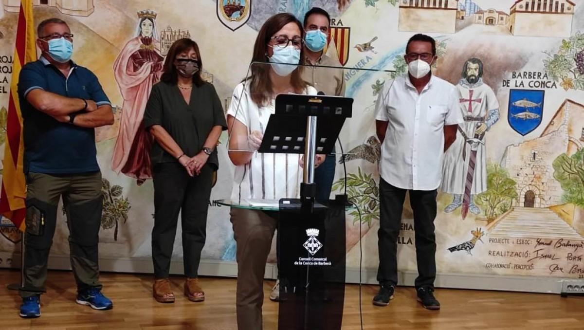 Carme Pallàs, nova presidenta de la Conca de Barberà