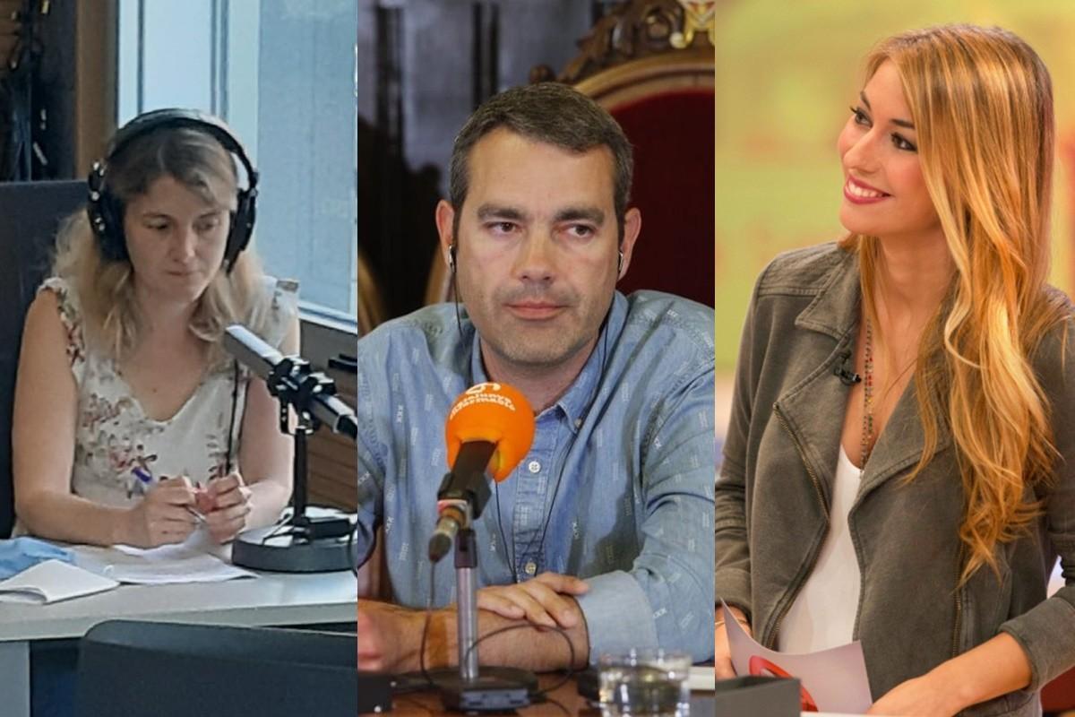 Gemma Bonet, Òscar Fernández i Marta Carreras, en imatge d'arxiu
