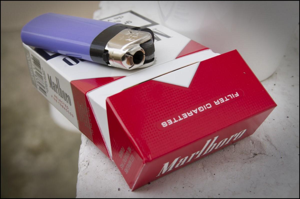 Paquet de tabac de Marlboro
