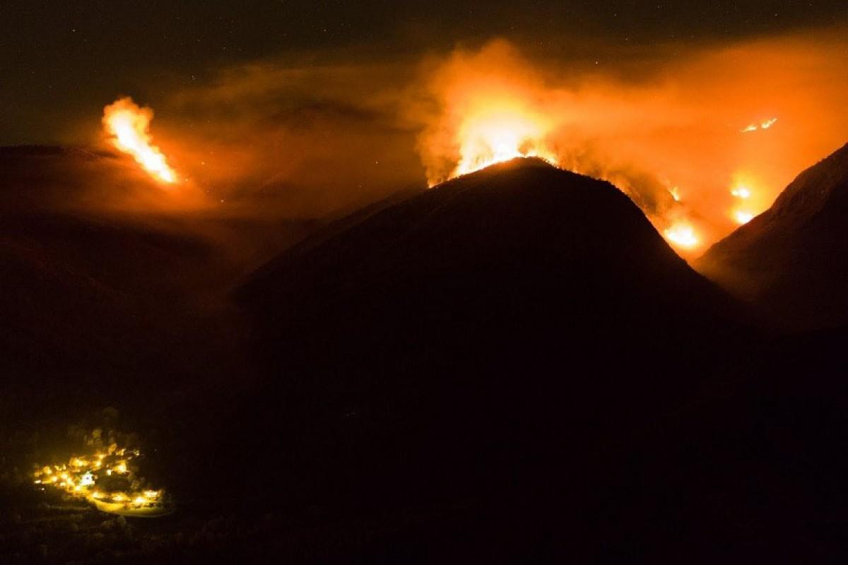 Un incendi el 2016 al Pallars Sobirà