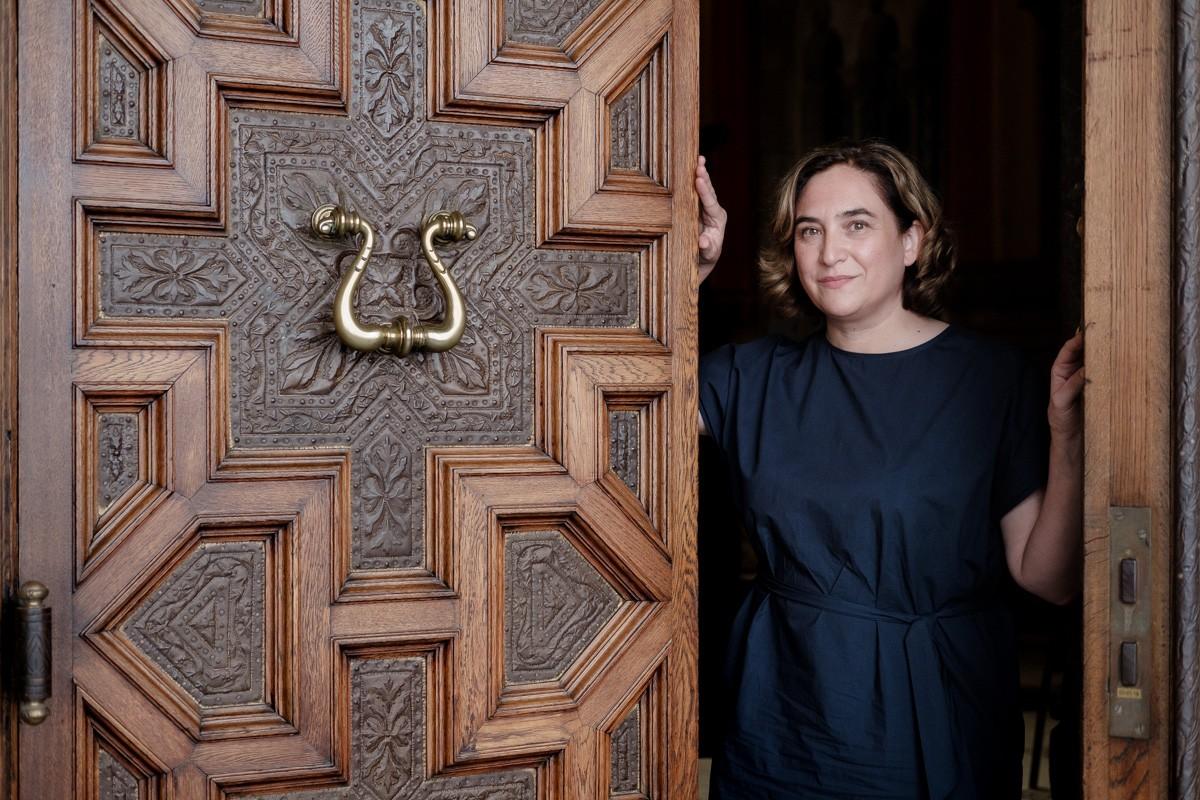 Ada Colau, entrevistada a NacióDigital.