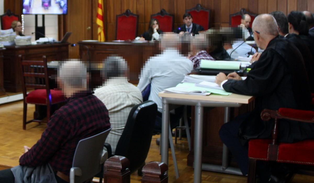 Imatge del judici del 2019