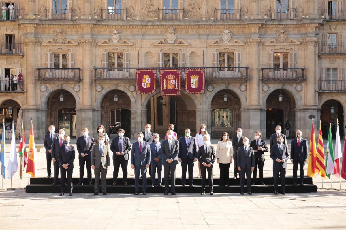 Conferència de presidents autonòmics a Salamanca.