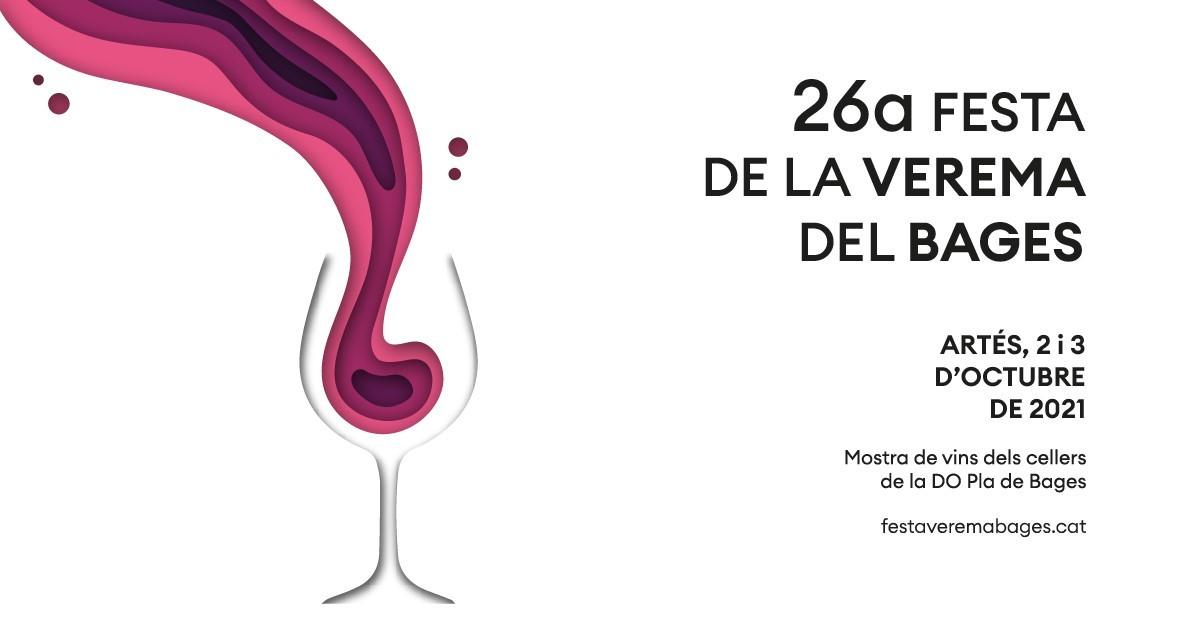El cartell de la Festa de la Verema 2021 està signat per la jove dissenyadora artesenca, Aina Girabal
