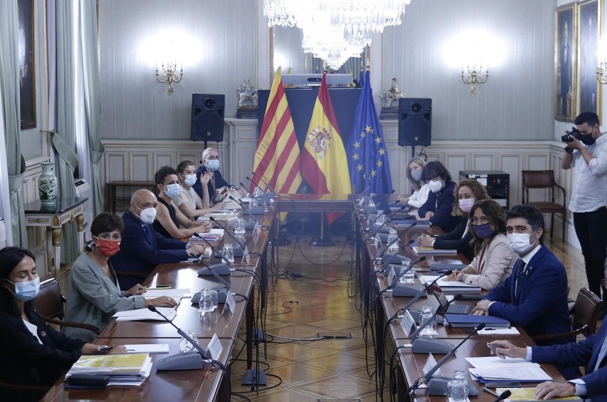 Trobada de la comissió bilateral.