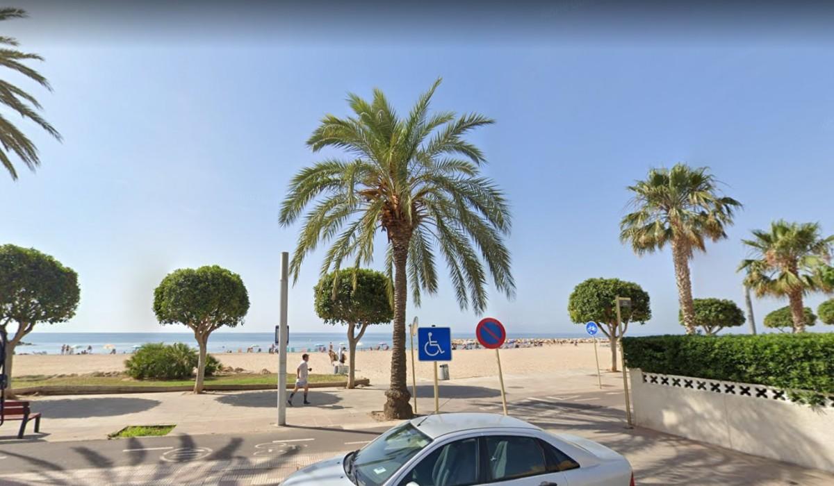 Una imatge d'arxiu de la platja de la Llosa, de Cambrils
