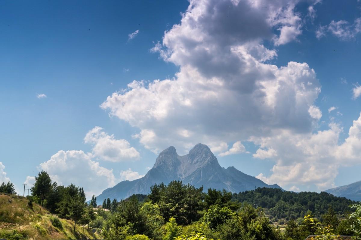 La muntanya del Pedraforca, al Berguedà
