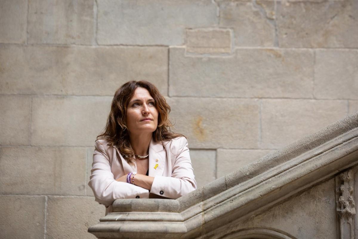 La consellera de la Presidència de la Generalitat, Laura Vilagrà