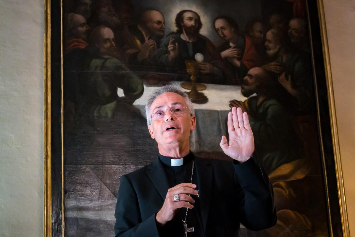 El bisbe de Vic, Romà Casanova