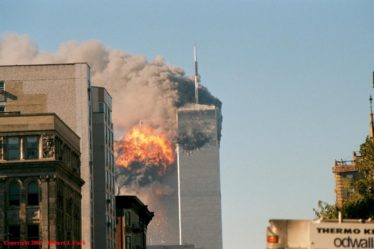 Atemptats de l'11-S Nova York.