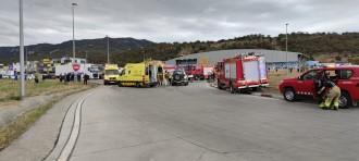 Detingut un camioner per provocar un accident mortal a la Jonquera