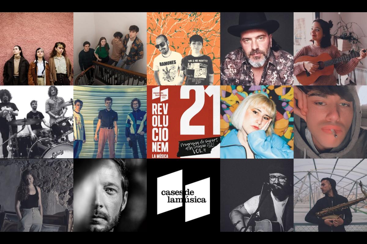 Els artistes del disc 'Revolucionem la música'