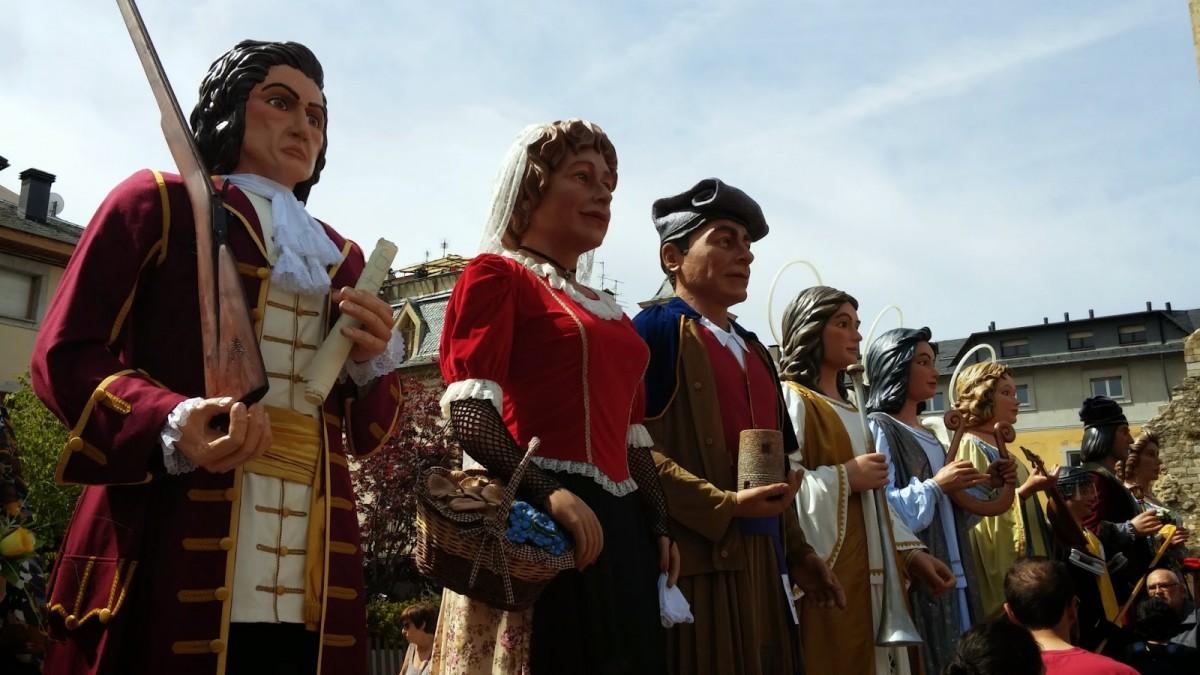 El protagonisme dels gegants no faltarà en la Festa major de Llinars del Vallès