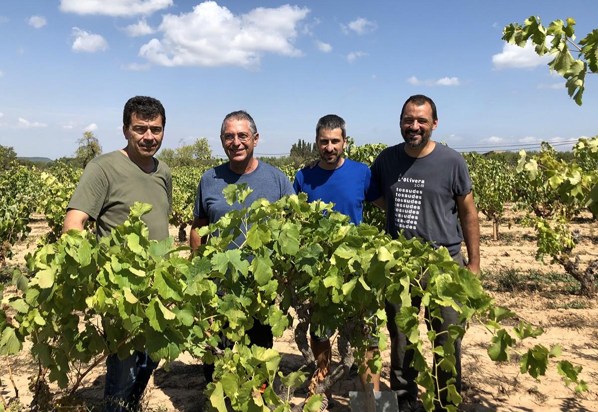 D'esquerra a dreta: Tomàs Cusiné, Jean-Michel Boursiquot, Gerard Batalla i Pau Moragas