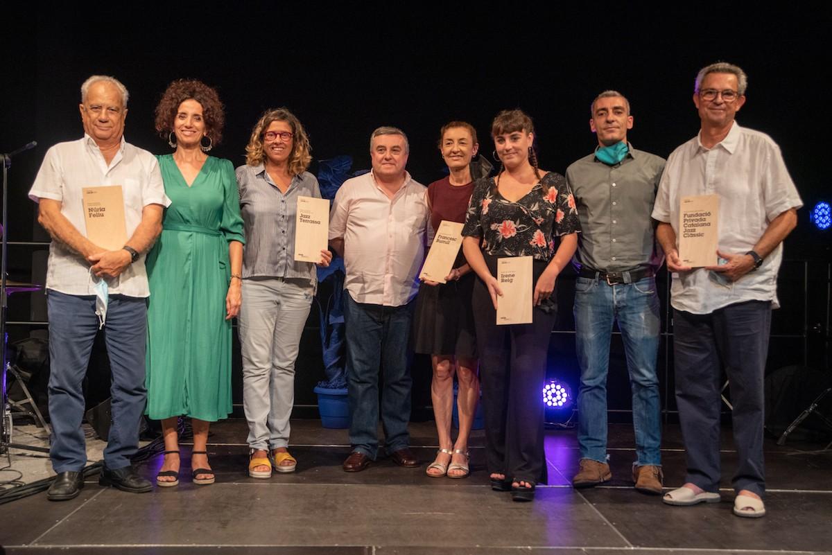 Els guardonats als Premis AMJM