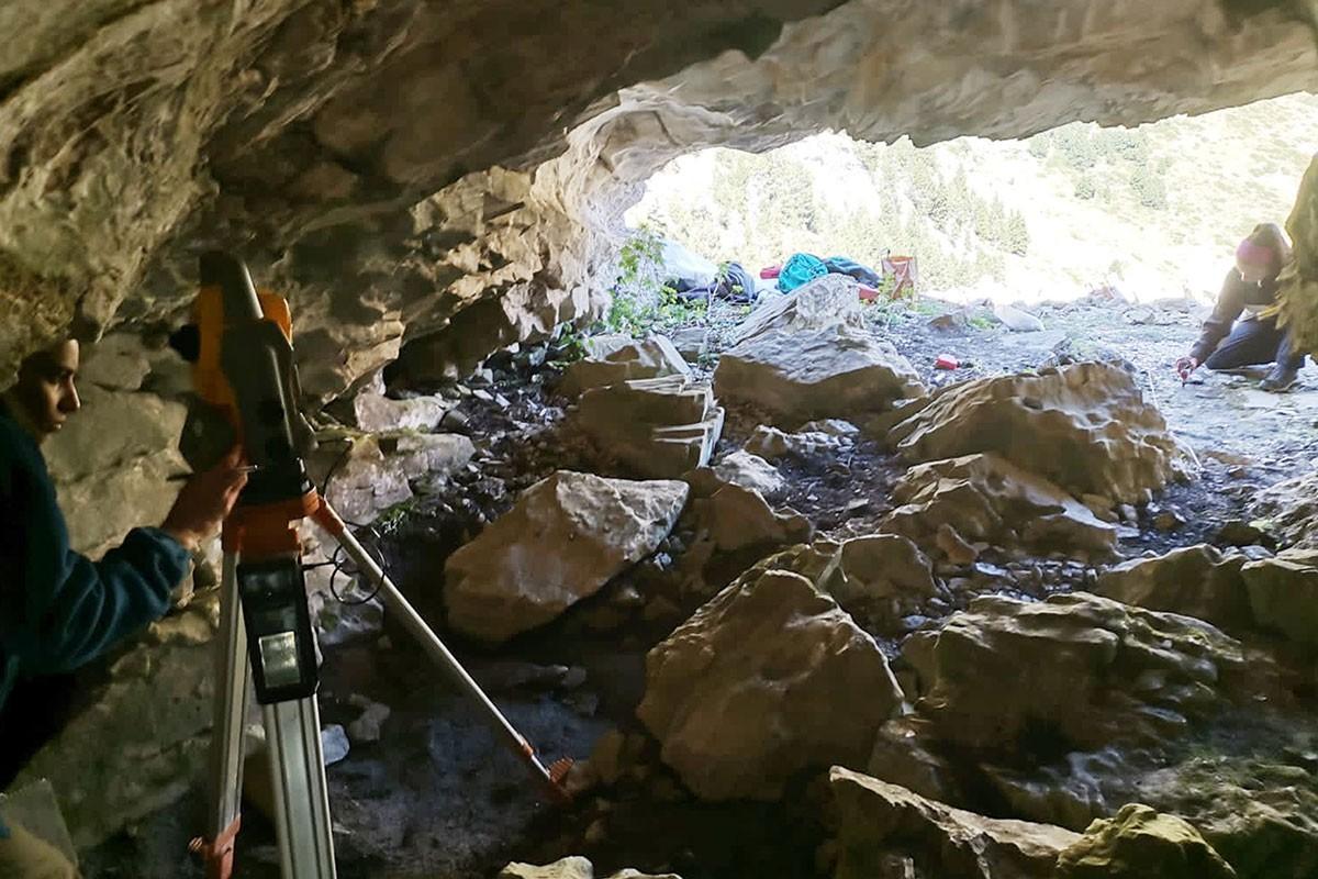 Imatge interior de la cova