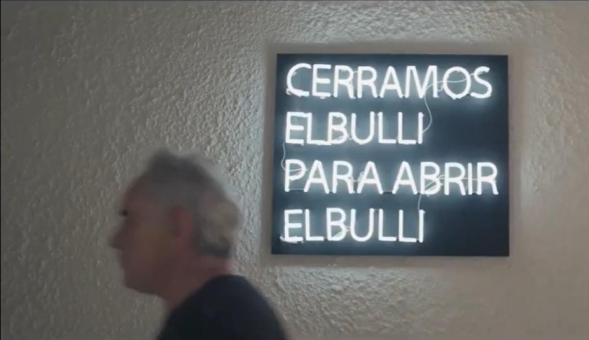 Escena del tràiler del documental sobre Ferran Adrià
