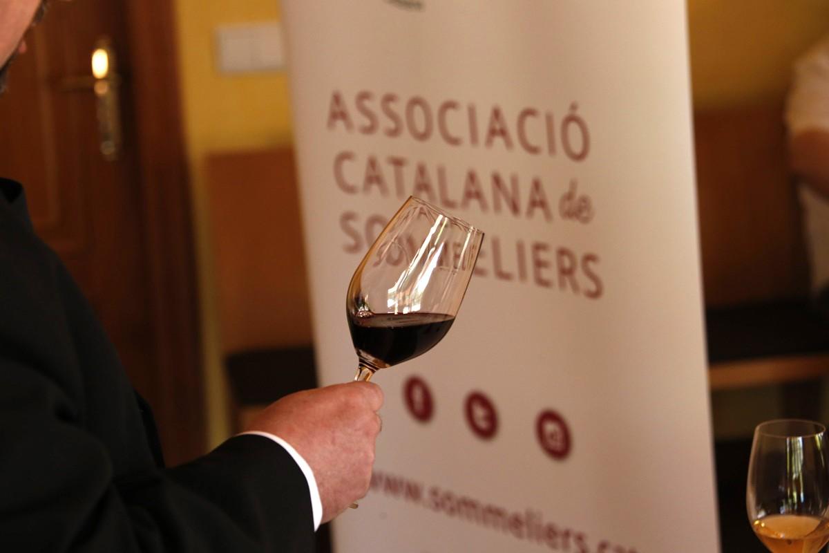 Imatge d'arxiu d'un concurs de Millor Sommelier de Catalunya