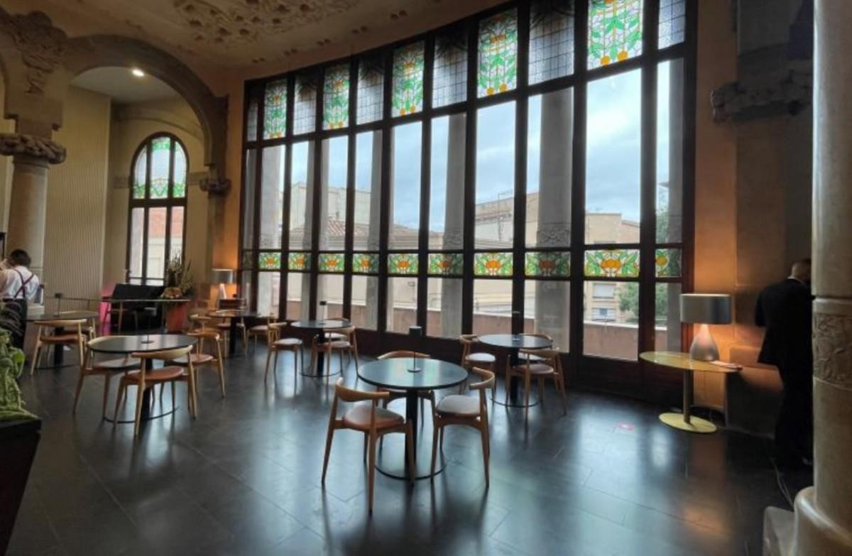 Bar del Teatre Principal de Terrassa.