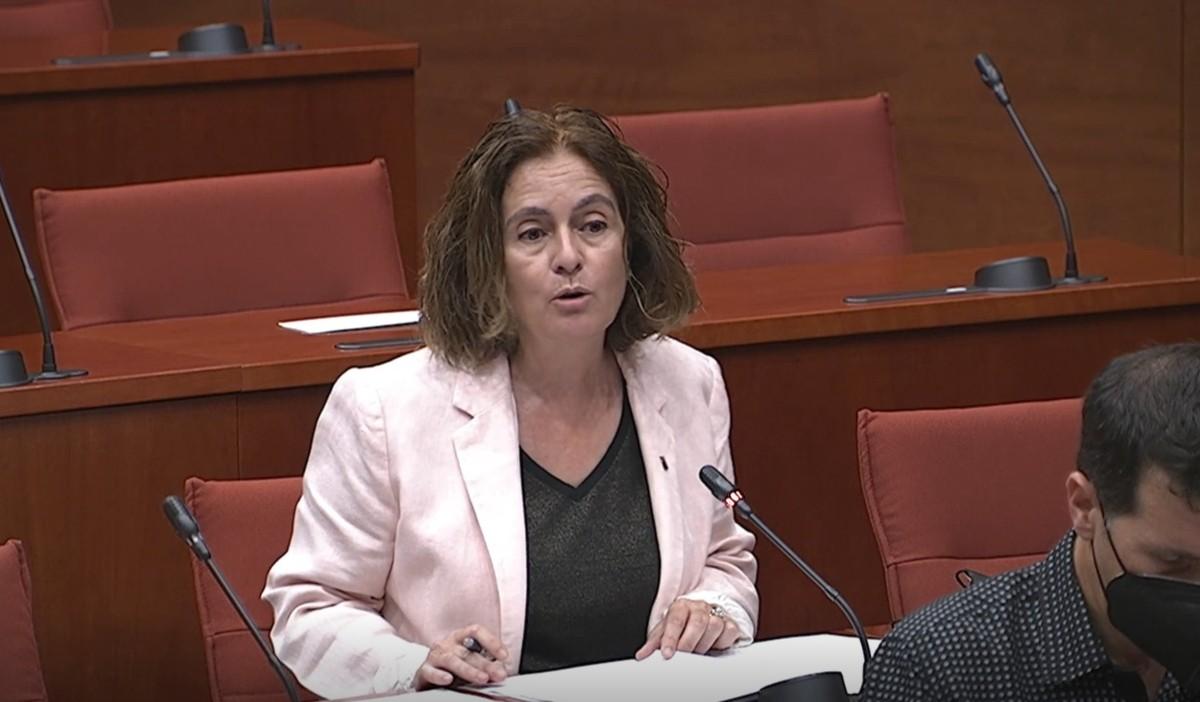 La diputada pallaresa Sílvia Romero en una imatge d'arxiu