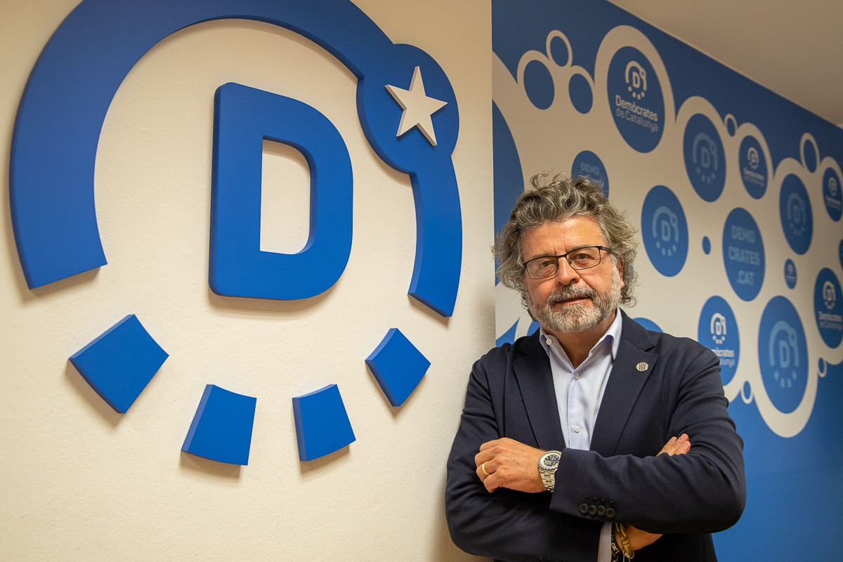 Antoni Castellà, entrevistat a NacióDigital.