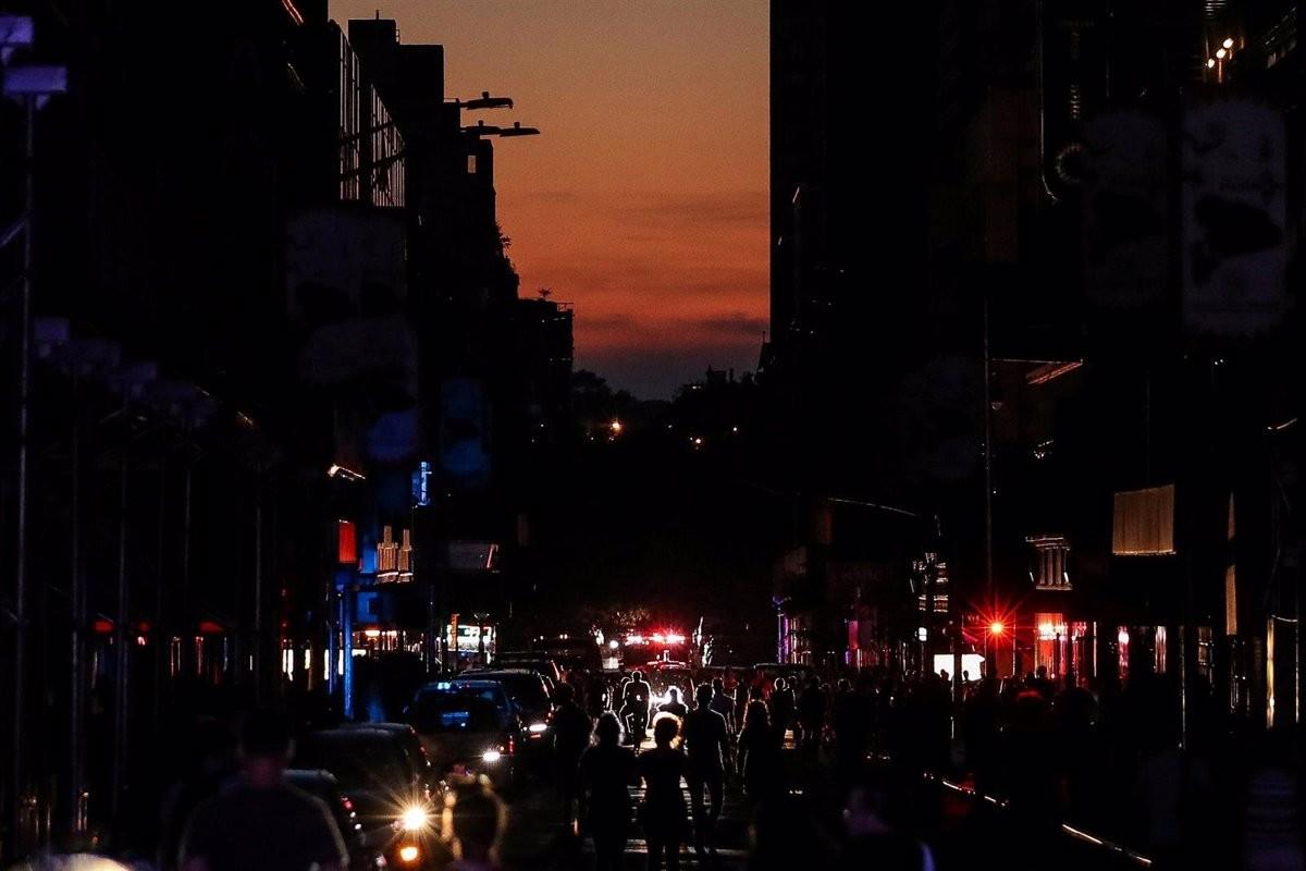 Apagada de llum a Nova York