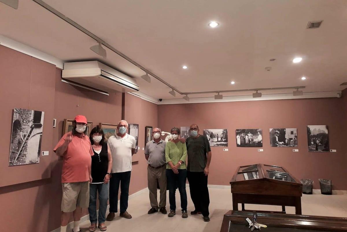 Imatge de l'exposició dedicada al pintor Enric Porta
