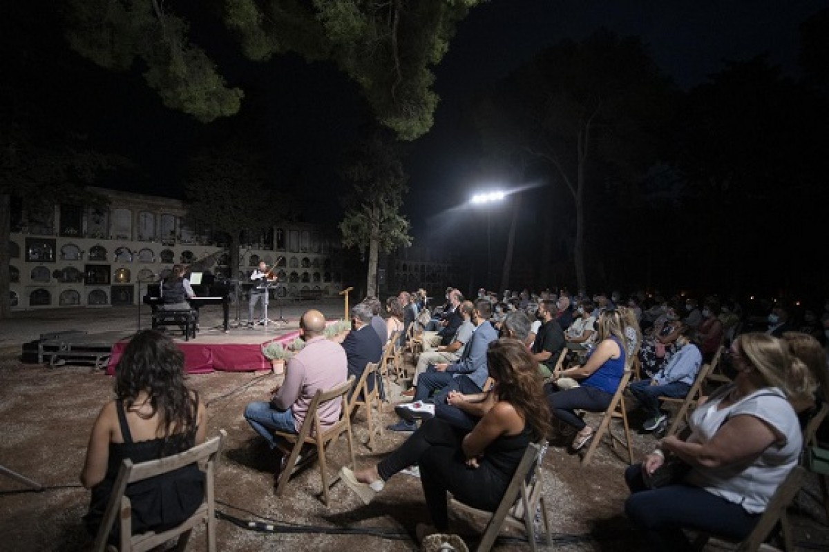 L'aforament del concert d'enguany ha estat de 300 persones que s'han reparti en dos espais