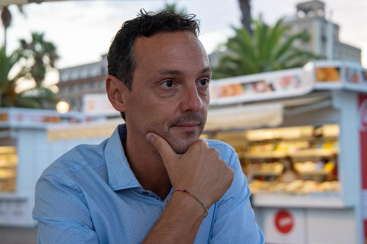 Joan Carles Girbés, president de la Setmana del Llibre en Català.