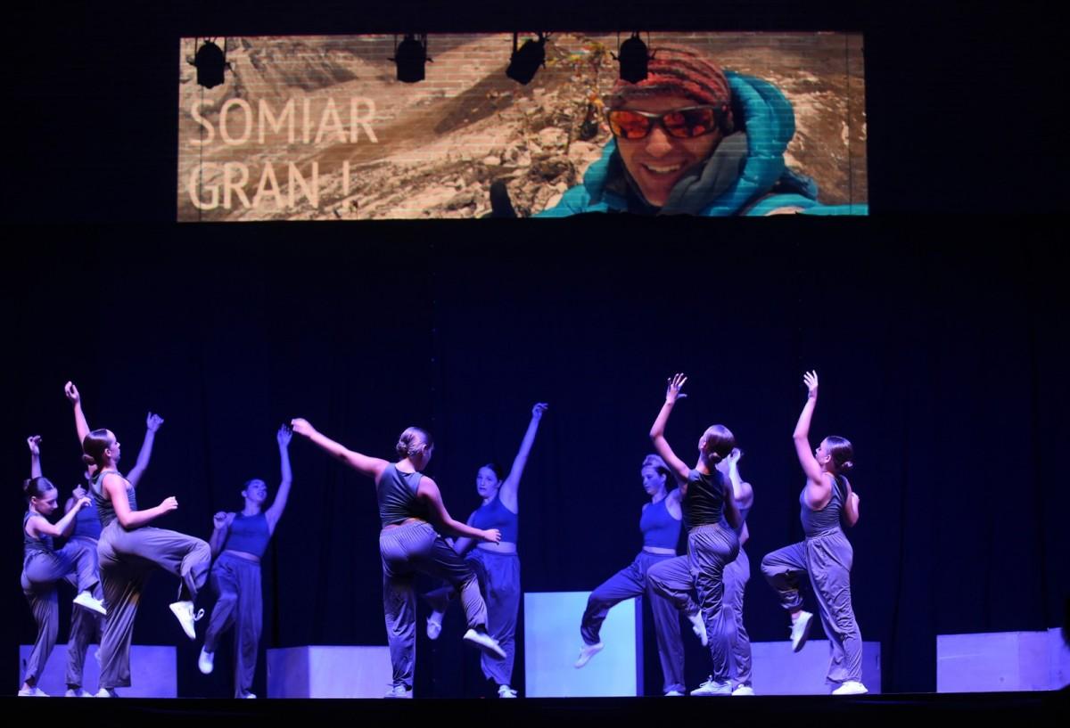 L'espectacle de dansa que s'ha fet en l'homenatge a Sergi Mingote