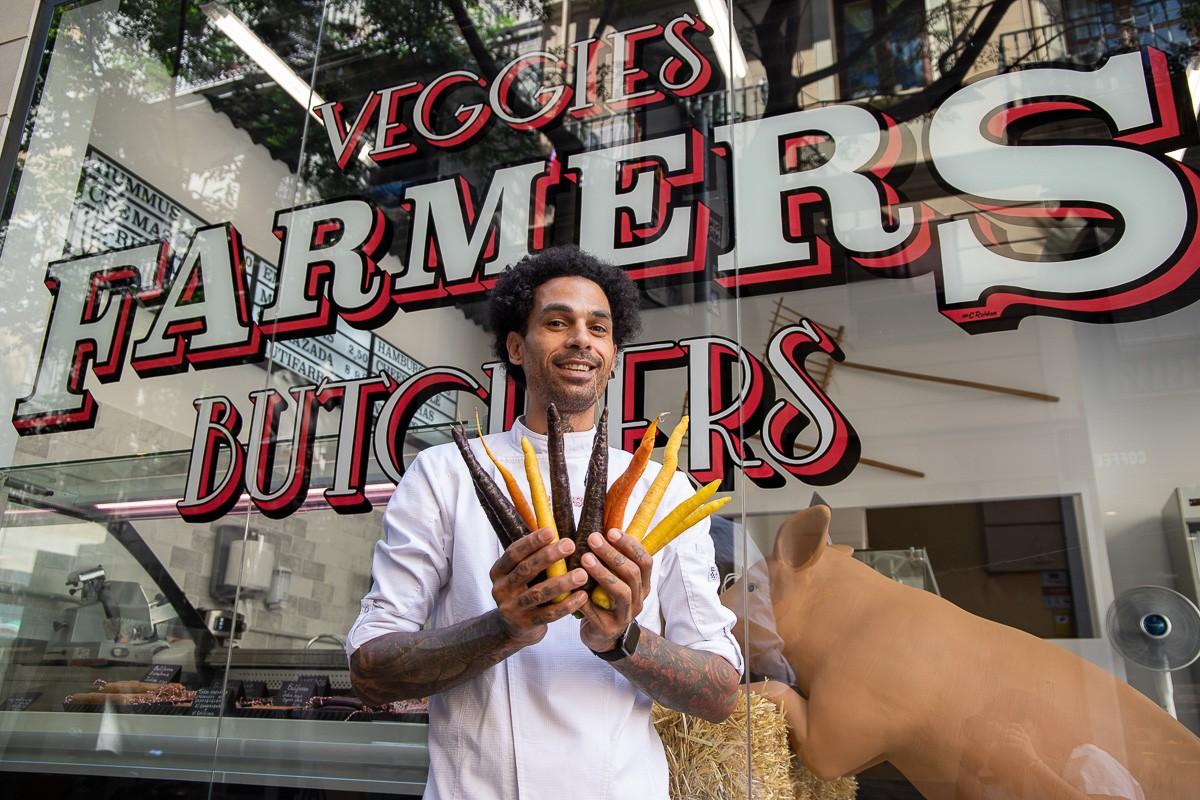 Henrique Marques, un dels fundadors de Farmers Veggie Butchers