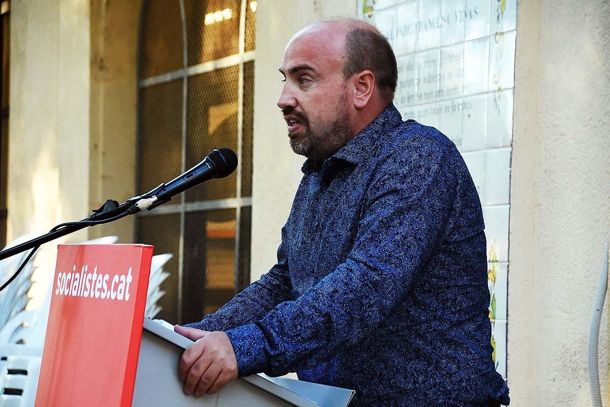 Enric Terencio, primer secretari de l'Agrupació Socialista del Moianès