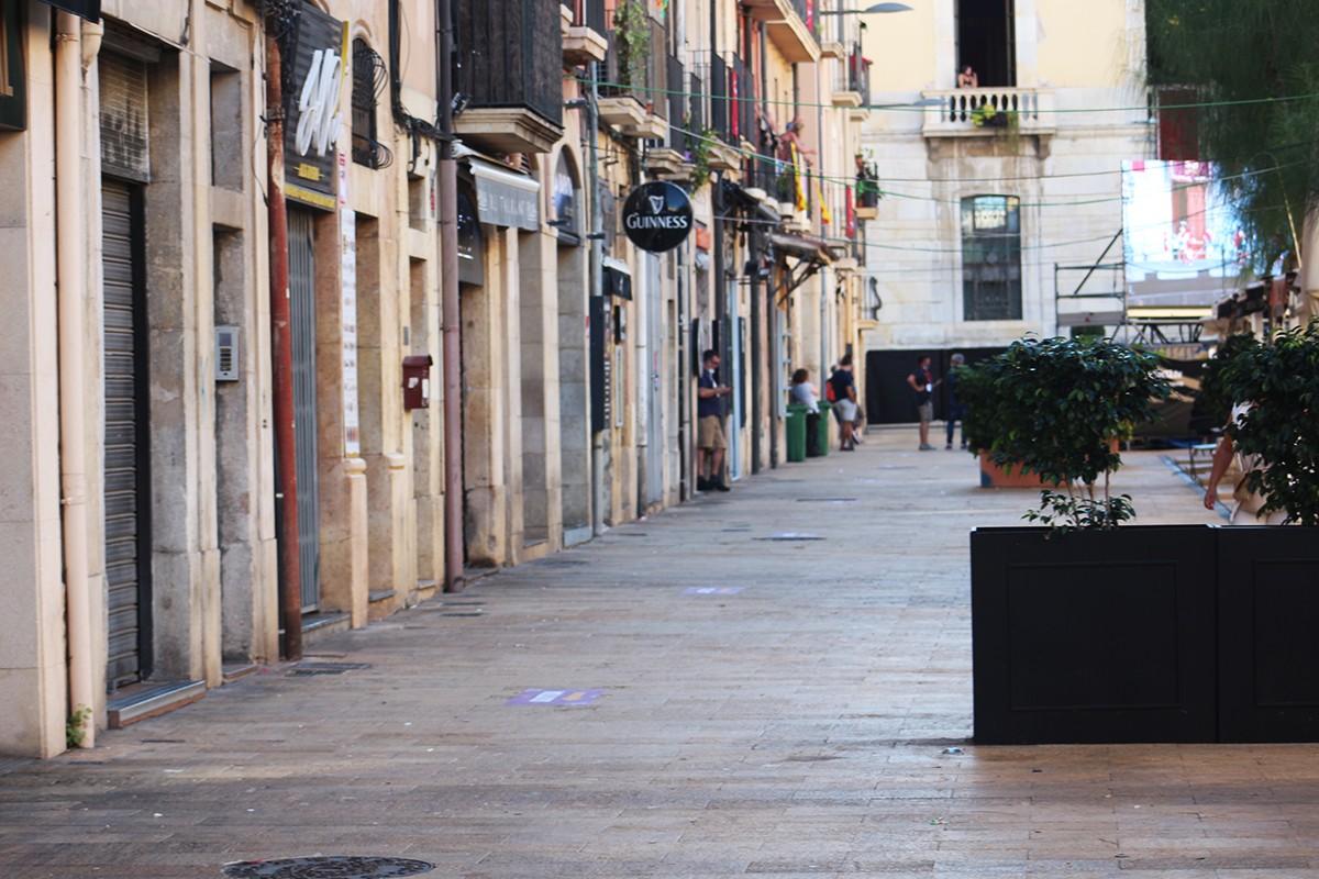 Els bars de la plaça de la Font han decidit tancar de manera unànime.
