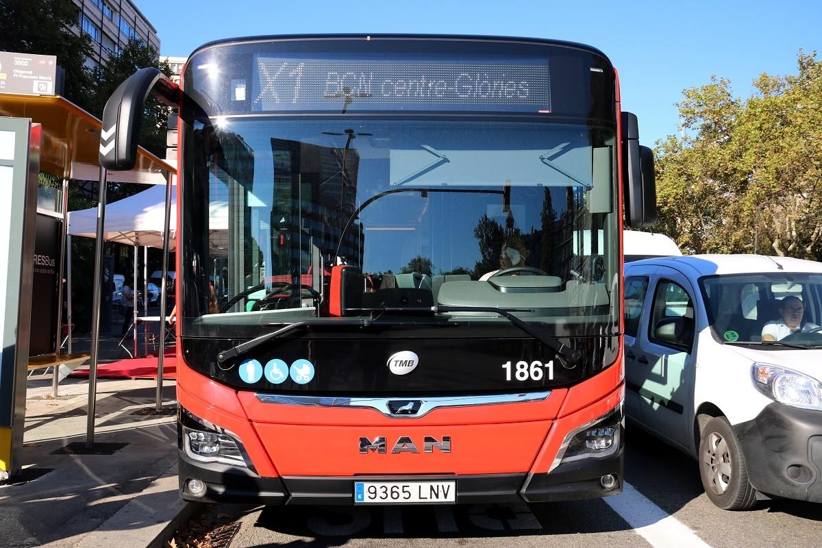 El nou autobús ràpid de TMB.