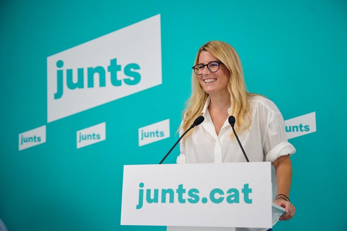La portaveu de Junts, Elsa Artadi.