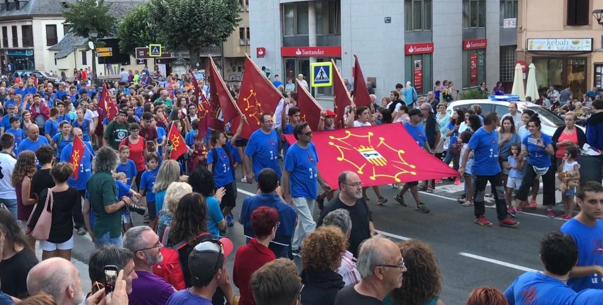 La cursa «Aran per sa Lengua» va arribar aquest 2021 a la seva 27a. edició.