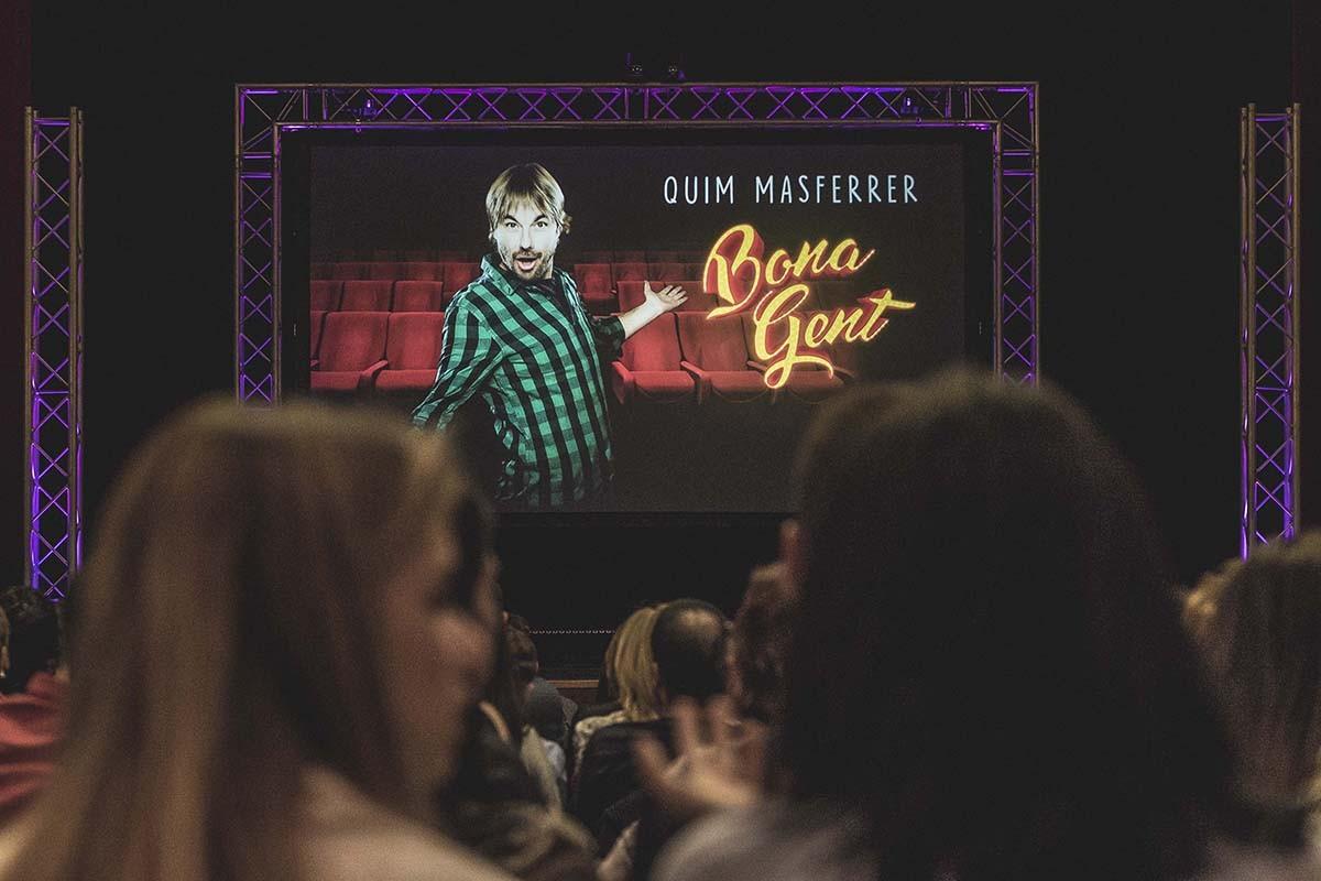 Imatge promocional de «Bona gent», amb Quim Masferrer
