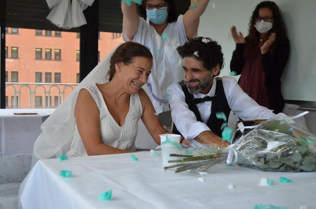 Imatge del casament