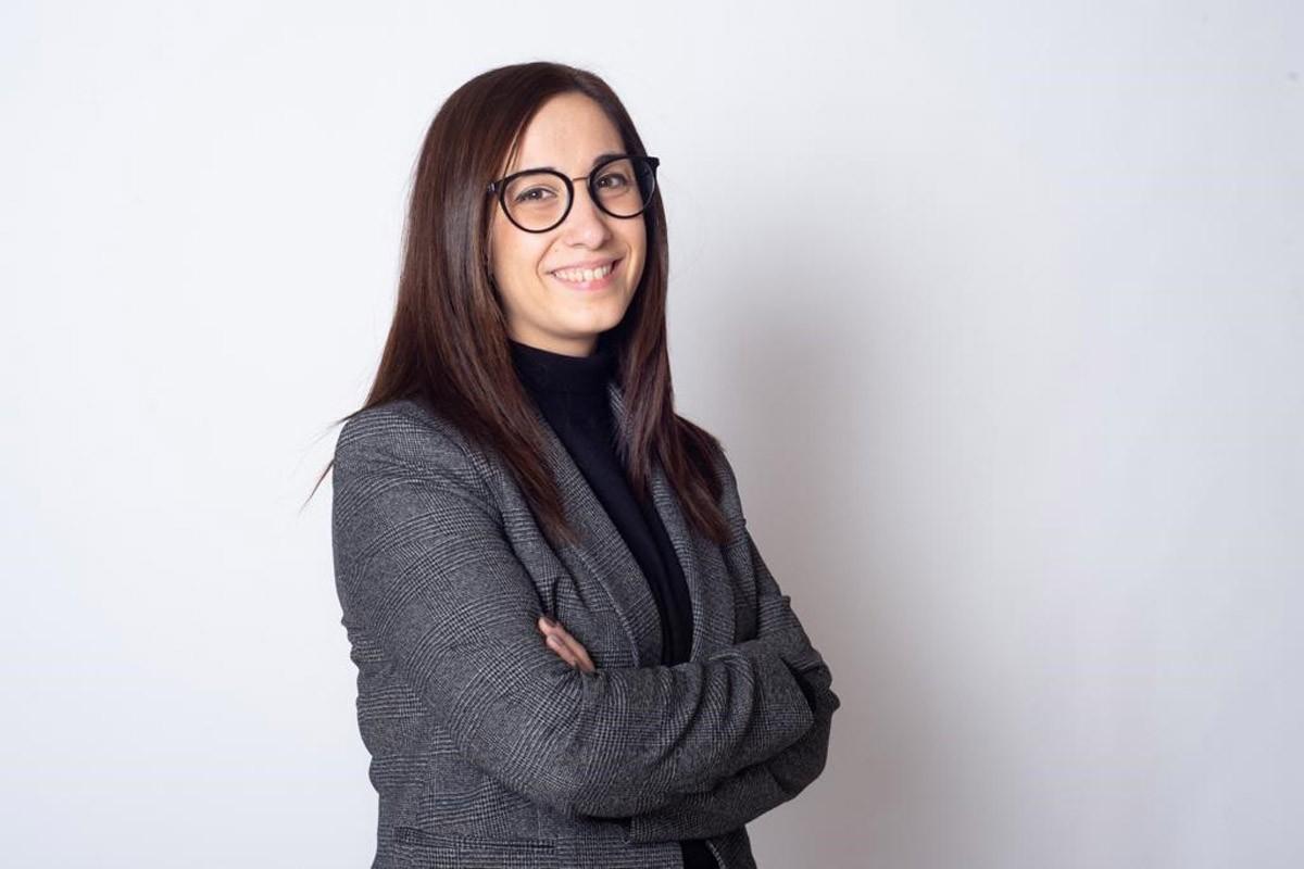 La presidenta de la UBIC Manresa, Tània Infante